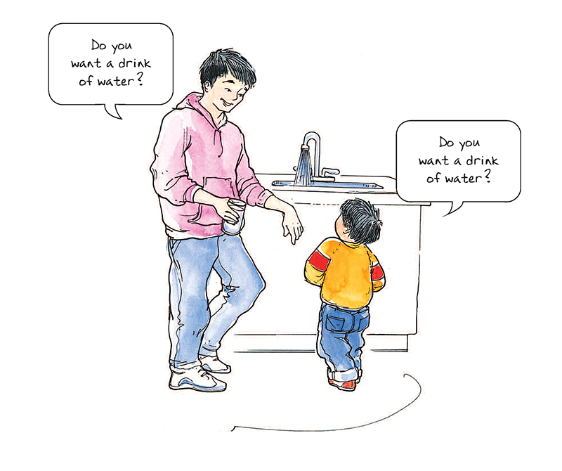 Example Site And Situation: Helping Children Who Use Echolalia