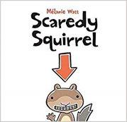 Scaredy Squirrel book cover